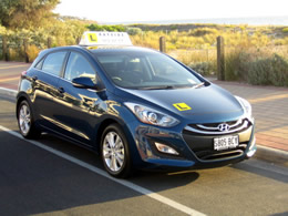 Bayside Driving School, driving lessons in a Hyundai i30 (auto)