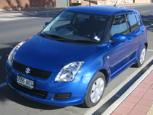 Bayside Driving School, learn to drive in a Suzuki Swift (manual)