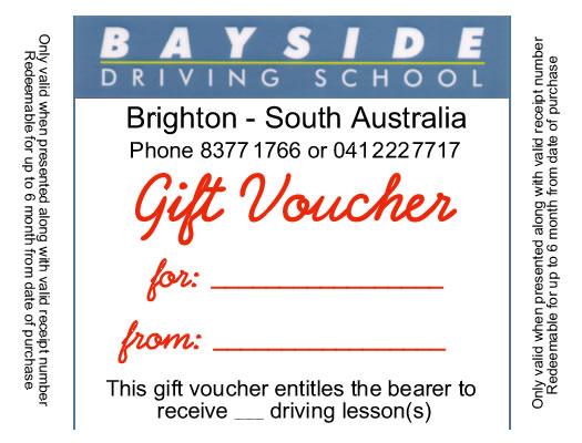Gift vouchers print examples – Gift Voucher Examples